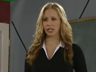Lesson plans for adult students Blonde teacher gives a masturbation lesson to her students