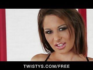 Free horny slut wet Horny big-tit brunette slut finger-fucks wet tight pussy