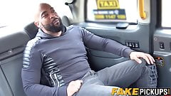 MILF taxi driver Sasha Steele begging for that BBC