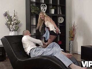 Someone to clean my house naked Vip4k. claudia supposed to clean the house but gets old cock