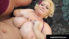 Massive Titty Fucking With Angelina Castro & Samantha 38G !