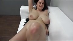 Big boobs amateur Karolina Casting Fuck