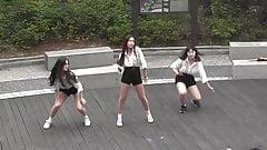 Korean prostitute dancing (12 o'clock-Chung-ha)
