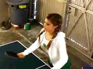 Teen topanga set - Topanga plays ping pong