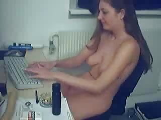 Computer sex machine - Fucking and masturbation on the computer