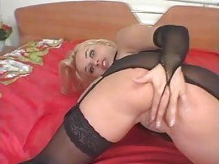 Blacks and blonds double penetration Vika black anal machine