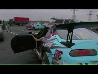Asian sport cars Drifting in sports car