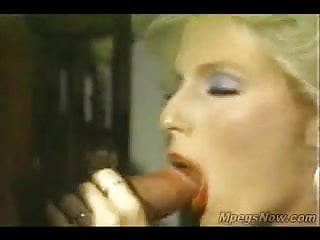 Monters up cock - Backed up cock explodes in her hungry mouth