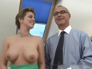 Free videos busty hairy girls Old man and busty hairy girl