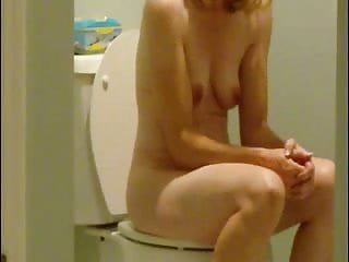My young sister nude - Spying not my cute sister nude in toilet. hidden cam
