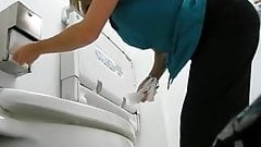 Sexy Lady Really Needs The Toilet