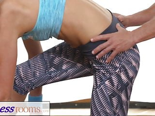Wife full body orgasm video - Fitnessrooms ivana sugar has a full body and pussy stretch