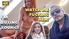 HUNT4K. Man should watch how his girlfriend Jenifer Red