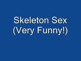 Fetal skeleton and adult skeleton Funny skeleton sex