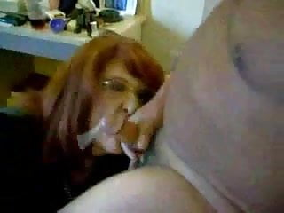 Home made facial cum Wife drinking my cum home made video