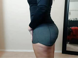 Ass clip shaking - Jiggly thighs thick pawg ass shaking culona hips