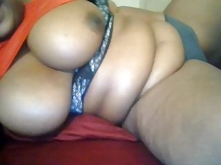 African self pics naked - Bbw thick sista with huge tits fingers self