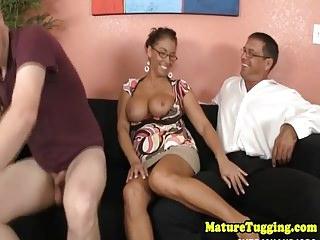 Mature tugging