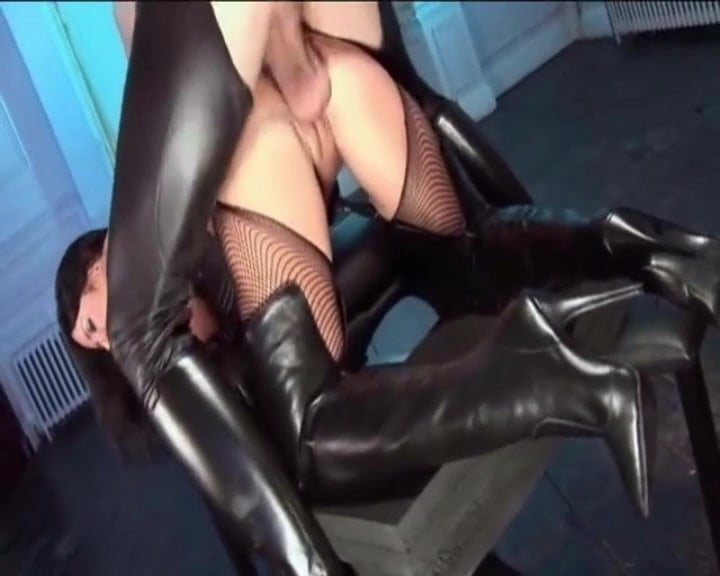 Leather Boots Fuck