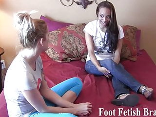 Free hand job lesson - Ayanna sucking feet for free yoga lessons