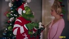 Chloe Couture & Cherie DeVillle - The Grinch Parody Porn