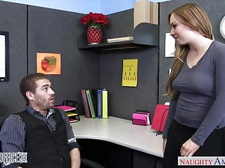 Bannister fuck Busty office babe tiff bannister fucking