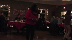 heels at a party