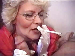 Breast sukking sex Gloved granny suks