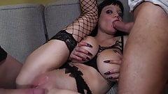 Elo Love, big boobs slut sodomized by 2 guys Vol. 2