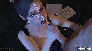 Resident Evil blowjob compilation