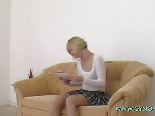 Exam gyno pic teen - Nikita gyno exam