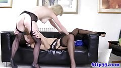 British babes enjoying old mans cock
