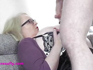 Sluts drenched in cum Granny sallys huge tits drenched in cum