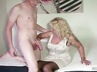 Naked moms sons peek - German step son suprise mom jenny naked and talk to fuck