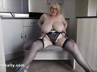 Pantie sexy very Huge tits granny in very skimpy panties