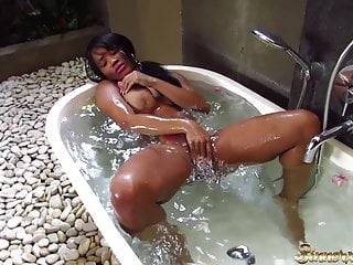 Filthy sex questions for your wife Kiki minaj - hot filthy sex in the bathtub on vacation