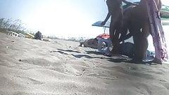 spycam in the beach