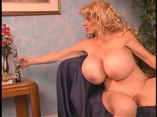 Huge Tits Bounce Dildo Solo