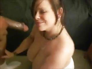 Gangbang cum eaters Cuckold cum eater wife