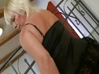 Blonde mature boobs - Old hot blonde bbw mature milf big boobs grannie