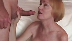 Beautiful Grannie Loves Hard Cock