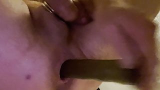Gaping for you my man pussy prostate fuck