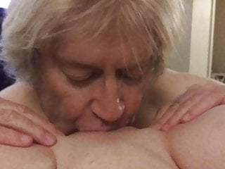Eating man old pussy young - Old man makes young woman scream from pussy eating