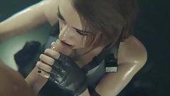 Resident Evil cartone animato del sesso porno hentai