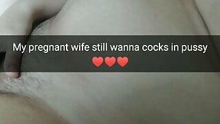 Pregnant wife still wants a rough fuck! - Milky Mari Snaps