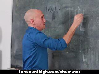 Professor fucking student - Teaching assistant fucks hot student professor