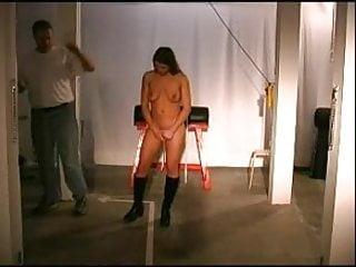 Breast suspension hanging - Breast bondage and suspension