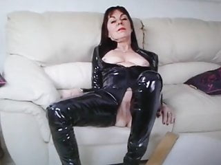 Pvc and latex tgp - Danish britt show pvc and pussy nr1