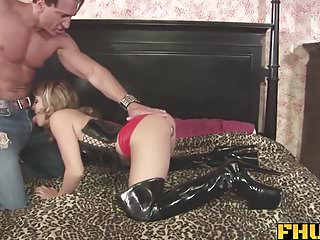 She loves her sons big cock Fhuta - she loves to get a load in her gaping butt hole