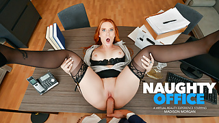 Naughty America - Madison Morgan loves riding your cock!